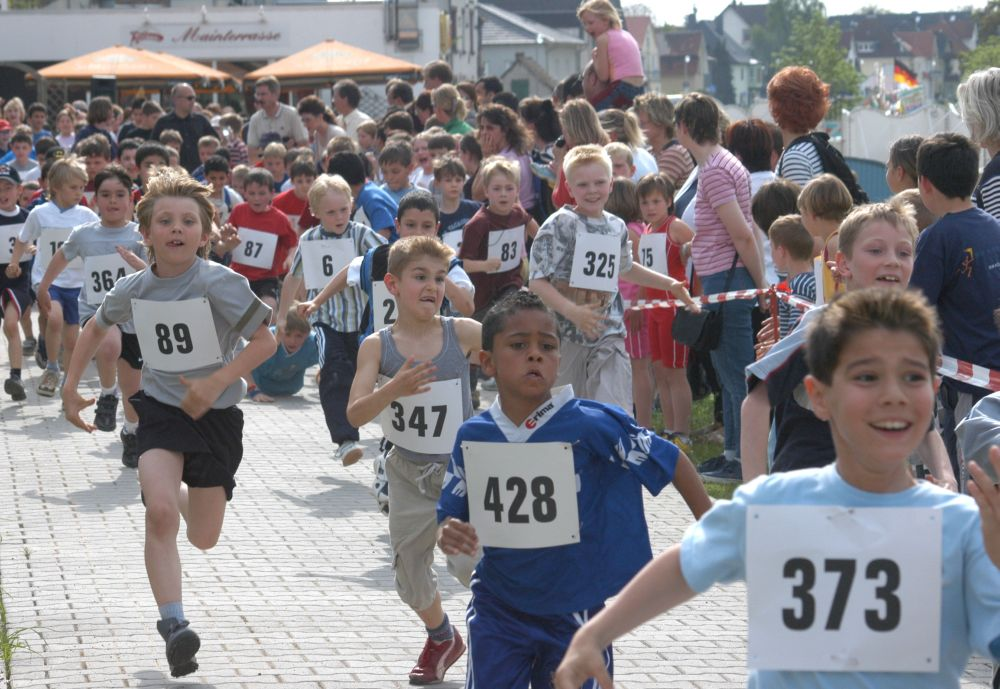 Mainuferlauf 2007 Schülerlauf
